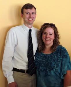 UTM alumnus Dr. Brandon Dodds and UTM alumna April Baker Dodds. (Sheila Scott)