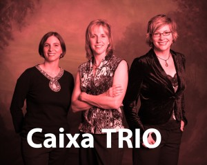 The Caixa Trio poses for a promotional shot in 2010. Featured from left to right is Amy Smith, Julie Davila and Dr. Julie Hill. (Julie Hill)