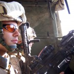 Lance Cpl. James Copeland spent many hours searching for IEDs and weapons in  Fallujah Iraq. (James Copeland)
