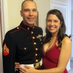 Cpl. James Copeland and Lexie Copeland are looking forward to a fun night out at the Marine Ball in Nashville, Tenn. (James Copeland)