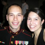Lance Cpl. James Copeland and Lexie Copeland had a great time at the Marine Ball 2008 in Nashville, Tenn. (James Copeland)