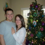 Micah and Michelle spent their first married Christmas together. (Photo courtesy/Michelle Bowers)