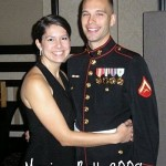 Lance Cpl. James Copeland and Lexie Copeland enjoyed attending the Marine Ball 2008 held in Nashville, Tenn. (James Copeland)
