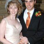 Erin Elizabeth Garcia-Fernandez and Dr. Anton Garcia-Fernandez are photographed July 2009 at the Country Music Hall of Fame in Nashville on their wedding day. (Anton Garcia-Fernandez)