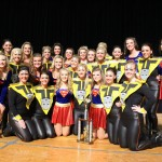Chi Omega and Zeta Tau Alpha tied for the overall Greek Week winners (Sarah Martin)