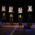 The total amount raised by Up 'til Dawn (Sarah Martin)