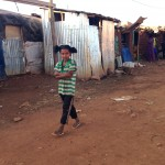 Girl in refugee camp. (Amy Burcham)