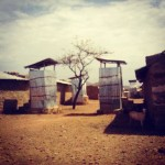 The African refugee camps the Burchams visited held as many as 27,000 people. (Amy Burcham)
