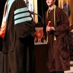 L-R Chancellor Tom Rakes and Joshua Garner (John Sellers)