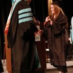 L-R Chancellor Tom Rakes and Amanda Jones (John Sellers)