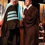 L-R Chancellor Tom Rakes and John Huddleston (John Sellers)
