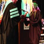 L-R Chancellor Tom Rakes and Megan Gielis (John Sellers)