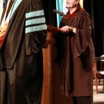 L-R Chancellor Tom Rakes and Miranda Goldsby (John Sellers)