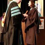 L-R Chancellor Tom Rakes and Karen Merola (John Sellers)