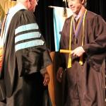 L-R Chancellor Tom Rakes and William Crosby (Sheila Scott)