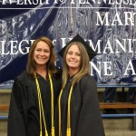 L-R Belinda Barker and Jennifer Parrish (Sheila Scott)