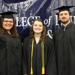 L-R Malorie Paine, Alex Jacobi and Bradley Stringfield (Sheila Scott)