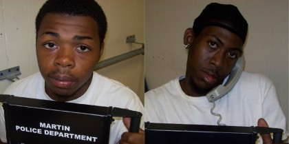 Two arrested in home invasion robbery