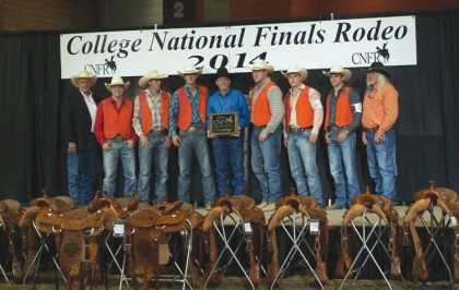 UTM Rodeo team ready for 2014-15