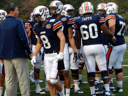 UTM defeats Cumberland 63-7 in rain soaked blowout