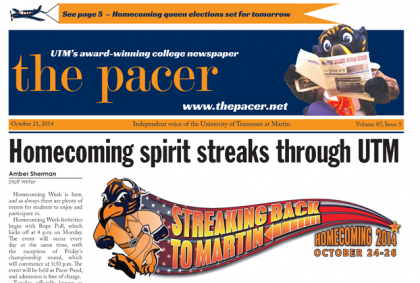 The Pacer Vol. 87 Issue 5 full issue