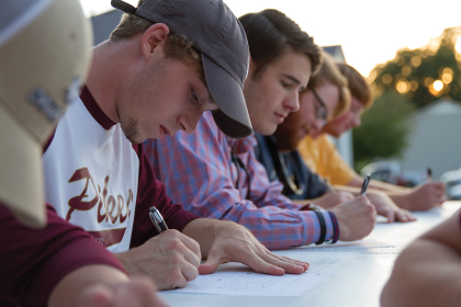 Pikes, Letters in Motion host awareness event