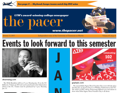 The Pacer Vol 87. No. 9 full issue
