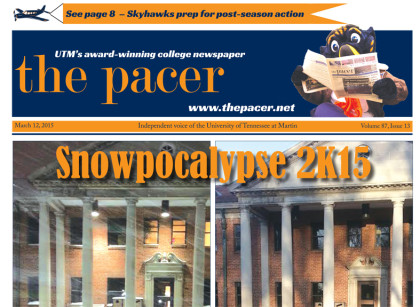 The Pacer Vol. 87 No. 13 full issue
