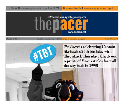 The Pacer Vol. 88 No. 4 full issue