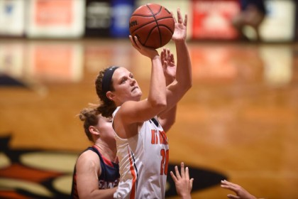 Skyhawks defeat Samford 52-50 despite poor shooting performance