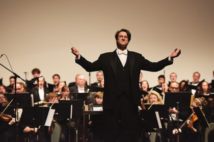 UTM faculty member named associate conductor of Jackson Symphony