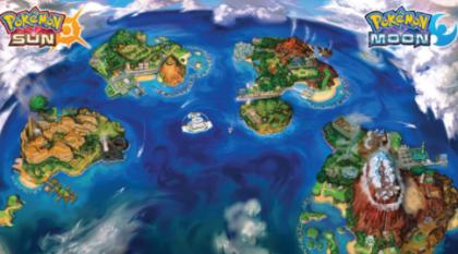 Explore Alola in Pokemon Sun and Moon