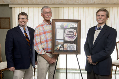 Contributions endow scholarship named for geology professor