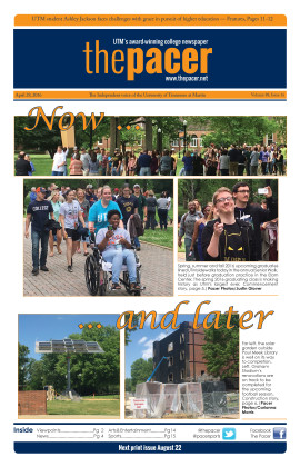 The Pacer Vol. 88 No. 16
