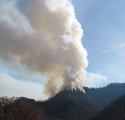 East Tennessee devastated by fire, needs assistance