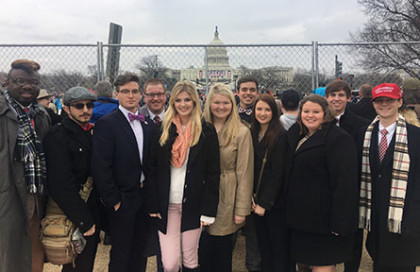 UTM students attend presidential inauguration