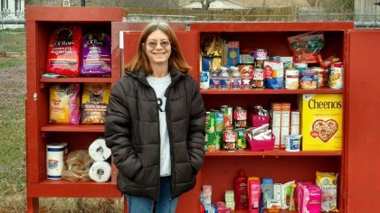 Facebook helps spread word of local Little Free Pantry