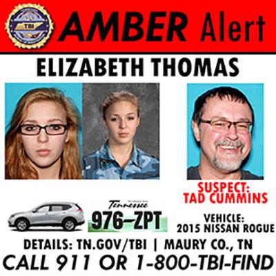 Columbia teen, Elizabeth Thomas, still missing