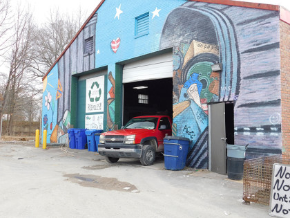 Decreased funding for recycling center