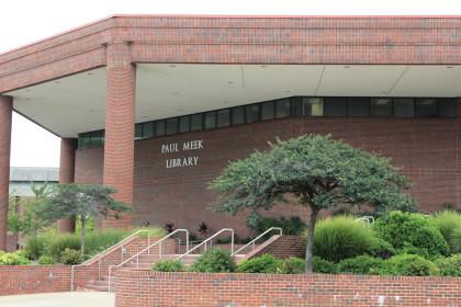 Paul Meek Library exhibits changes