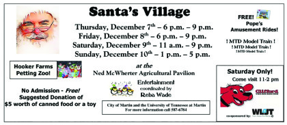 Santa's Village gives back to community